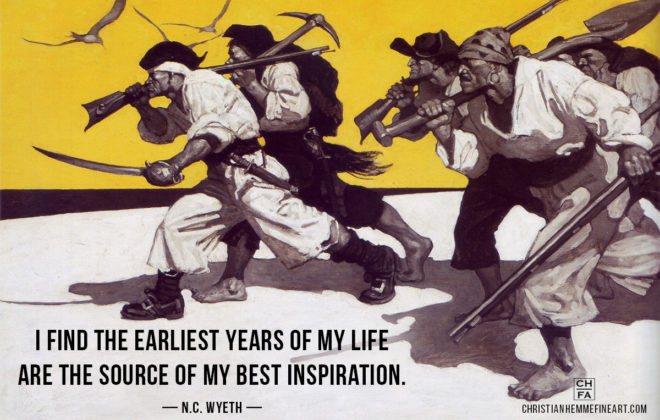 N.C. Wyeth Quote Inspiration